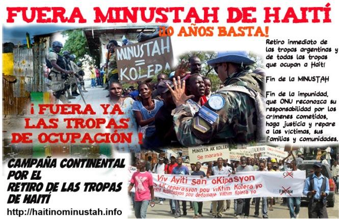 Haití pegar sin sumate más blanco