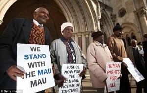 we stand with the mau mau