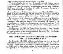 The seizure of Haiti by the US p4
