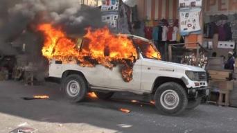 se incendian autos