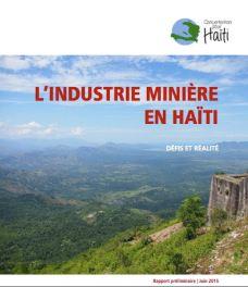 Tapa Industrie minière Informe prelim