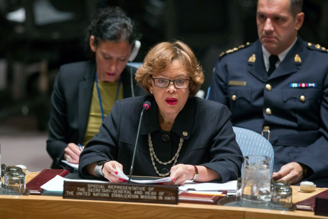 Security Council Meeting: The question concerning Haiti