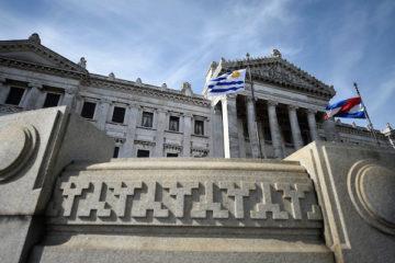 3ra Bienal de Montevideo en el Dia del Patrimonio en el Palacio Legislativo. Nicolás Celaya /adhocFOTOS