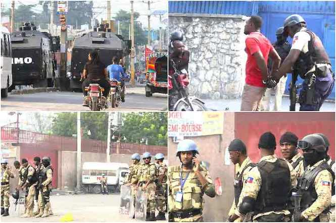 policia-haiti