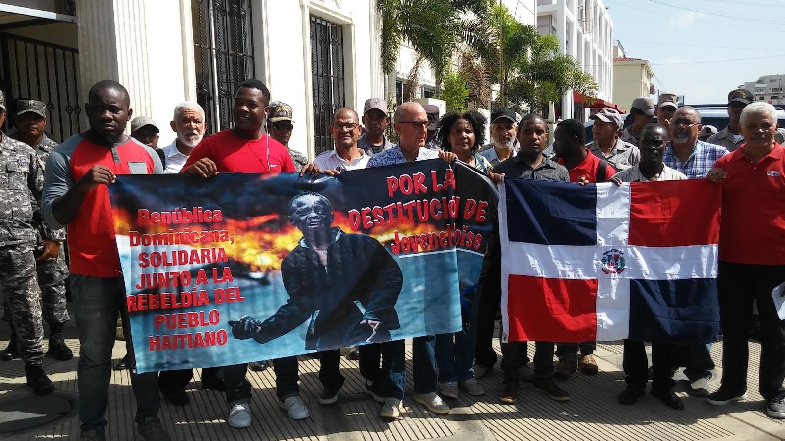 Como Es Vivir En Haiti manifiesto: república dominicana respalda la rebeldía y el